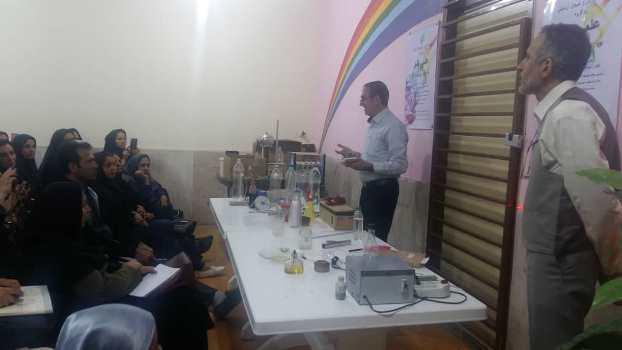 گزارش برگزاری همایش آمورگاران مقطع ابتدائی استان فارس